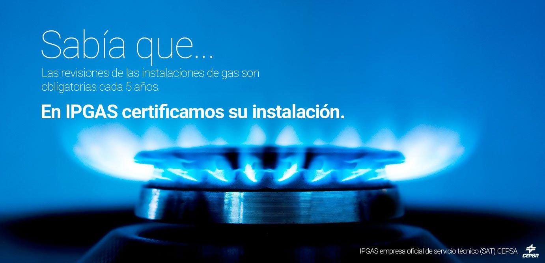 Imagen de Certificación instalación de gas butano